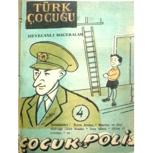 Türk Çocuğu Heyecanlı Maceralar Ciltli 16 Sayı Cem Erten Altın Bahçe Yayınları 1965 Basım