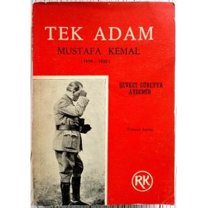 Tek Adam - Cilt 2 Şevket Süreyya Aydemir Remzi Kitabevi / Tarih Anı İnceleme Dizisi