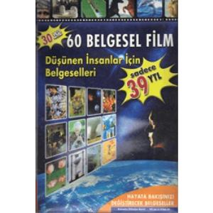 30 VCD 60 Belgesel Film Düşünen İnsanlar İçin Belgeselleri