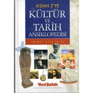 A'dan Z'ye Kültür Ve Tarih Ansiklopedisi 2 Cilt Yeni Şafak Basım Tarihi 2004
