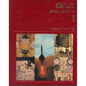 Görsel Okul Ansiklopedisi 8 Cilt GörselYayınları 1981 Basım
