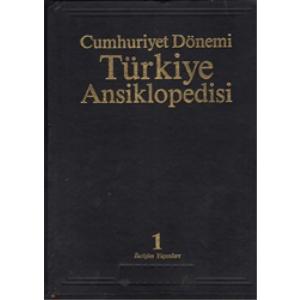 CUMHURİYET DÖNEMİ TÜRKİYE ANSİKLOPEDİSİ 1 ve 2 Cildi Murat Belge İletişim Yayınları
