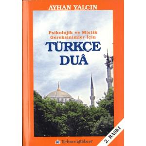 Türkçe Dua Ayhan Yalçın Türkmen Kitabevi / İslam Dizisi