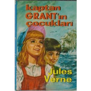 KAPTAN GRANT'IN ÇOCUKŞLARI JULES VERNE ÇEVİRMEN NİHAL ÖNAL ALTIN KİTAPLAR YAYINLARI 1979 BASIM ŞÖMİZLİ