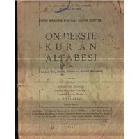 On Derste Kur-an Alfabesi H.Fikri Aksoy Din Kültürü Yayınları Basım Tarihi 1963