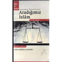 Yaşanmış Örnekleriyle Aradığımız İslam Ahmed Şahin Zaman Cep Kitapları Basım Tarihi 2001