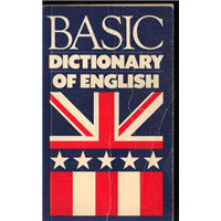 Basıc Dictionary Of English G.Capelle Regents Publishing Company
