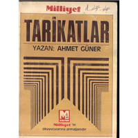Tarikatlar Ahmet Güner Milliyet Basım Tarihi 1986