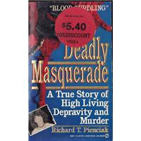 Deadly Masquerade Richard T.Pienciak A Signet Book Basım Tarihi 1990