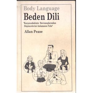 Beden Dili Body Language Allan Pease Rota Yayınları Basım Tarihi 2002 Çeviren Yeşim Özben
