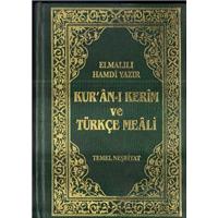 Kur-an-ı Kerim Ve Türkçe Meali Elmalılı Hamdi Yazır Temel Neşriyat