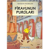 Tenten-in Maceraları Firavun-un Puroları Herge Yapı Kredi Yayınları 1997 Basım