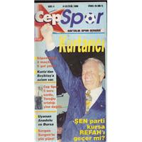 Cep Spor Sayı:4 4-10 Eylül 1996 Haftalık Spor Dergisi