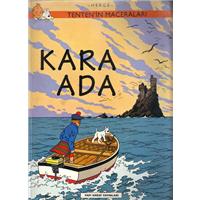 Tenten-in Maceraları Kara Ada Herge Yapı Kredi Yayınları 1998 Basım