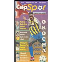Cep Spor Sayı:3 28 Ağustos- 3 Eylül 1996 Haftalık Spor Dergisi