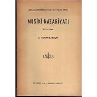 Musiki Nazariyatı A. Adnan Saygun Devlet Konservatuvarı Yayınları Serisi