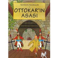 Tenten-in Maceraları Ottokar-ın Asası Herge Yapı Kredi Yayınları 1998 Basım