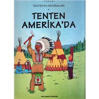 Tenten Amerikada Herge Yapı Kredi Yayınları 1997 Basım