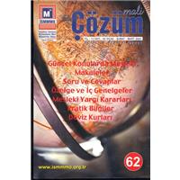Mali Çözüm Sayı 62 Ocak-Şubat-Mart 2003 Üç Aylık Mesleki Dergi
