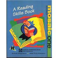 A READING SKILLS BOOK - MOSAIC ONE BRENDA WEGMANN-MIKI PRIJIC KNEZEVIC