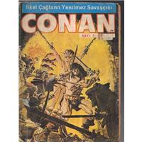 Conan Uzun Yolcunun Sesi İlkel Çağların Yenilmez Savaşçısı Sayı:5 Alfa Yayıncılık