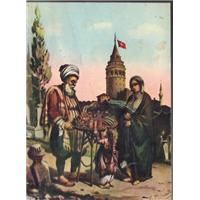 Galata Kulesi Ziya Erkins Yörük Matbaası