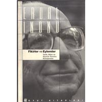 Fikirler Ve Eylemler Erdal İnönü Boyut Kitapları Basım Tarihi 1999