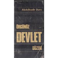 Örgünöz Devlet Düzeni Abdulkadir Duru Özden Basın Basım Tarihi 1979