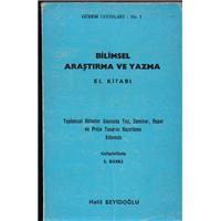 Bilimsel Araştırma Ve Yazma El Kitabı Halil Seyidoğlu Güzem Yayınları Basım Tarihi 1987