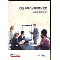 Skills For Great Presentations Sunum Teknikleri Dr.Melanie Quin Çeviren Zeynep Gündüzyeli Hürriyet