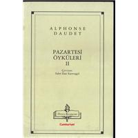 Pazartesi Öyküleri Alphonse Daudet Çeviren Sabri Esat Siyavuşgil
