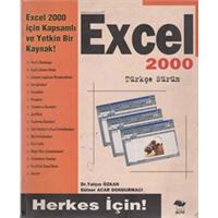 EXCEL 2000 TÜRKÇE SÜRÜM DR.YALÇIN ÖZKAN - GÜLSER ACAR DONDURMACI 2000 BASIM