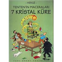 Tentenin Maceraları 7 Kristal Küre Herge Yapı Kredi Yayınları 1995 Basım