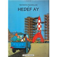 Tenten-in Maceraları Hedef Ay Herge Yapı Kredi Yayınları 1996 Basım