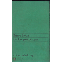 Bertolt Brecht Die Dreigroschenoper Edition Suhrkamp Günther Busch