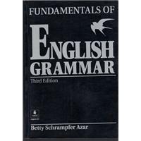 FUNDAMENTALS OF ENGLISH GRAMMAR BETTY SCHRAMPFER AZAR THIRD EDİTİON