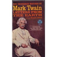 Letters From The Earth Mark Twain Crest Book Basım Tarihi 1963