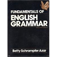 FUNDAMENTALS OF ENGLISH GRAMMAR BETTY SCHRAMPFER AZAR SECOND EDİTİON