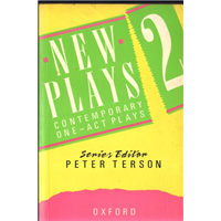 New Plays 2 Peter Terson Oxford University Press 1991