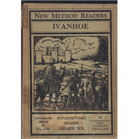 Ivanhoe New Metod Readers Sır Walter Scott Longmans Green And Co.Basım Tarihi 1942