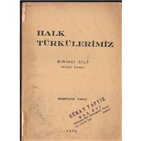 Halk Türkülerimiz Serbülent Yasun Öztuğ Matbaası Basım Tarihi 1976