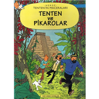 Tenten-in Maceraları Tenten ve Pikarolar Herge Yapı Kredi Yayınları 1997 Basım